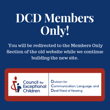 Link to DCD Members Only website