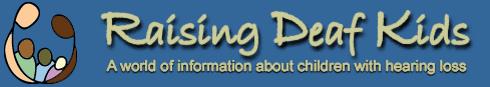 Raising Deaf Kids Logo