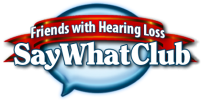 Say What Club Logo