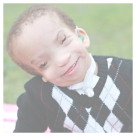 toddler boy with disabilities
